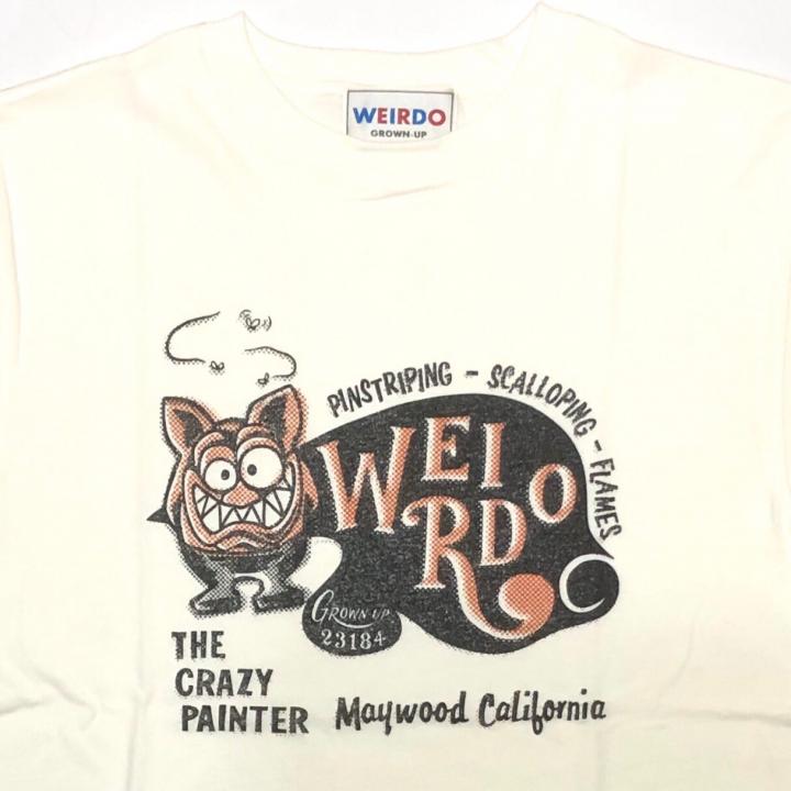 WEIRDO FINK CARD – S/S T-SHIRTS / WHITEの商品画像3