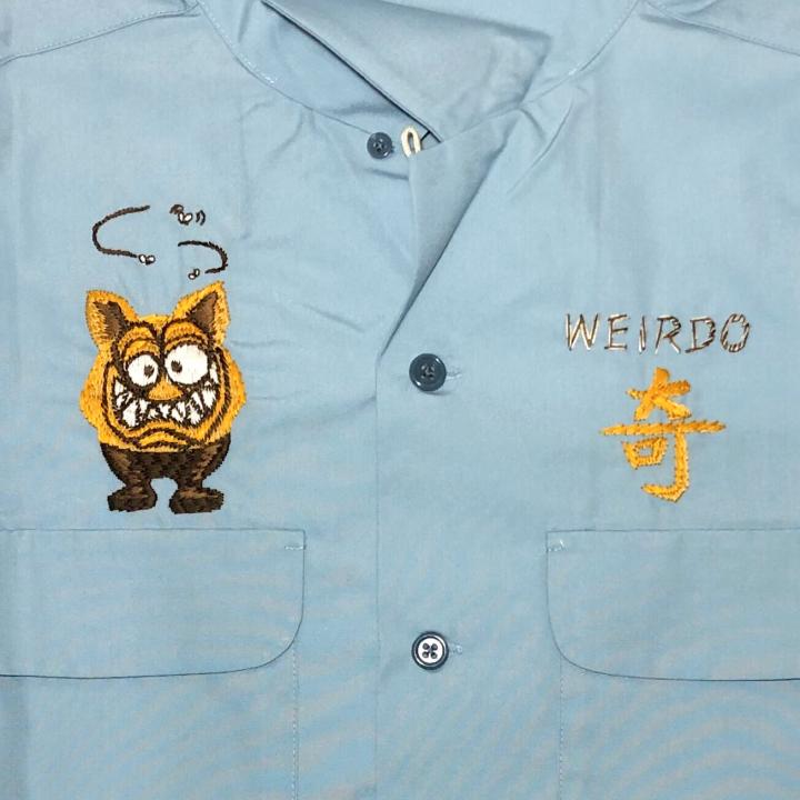 WEIRDOZ – S/S WORK SHIRTS / SAXの商品画像4