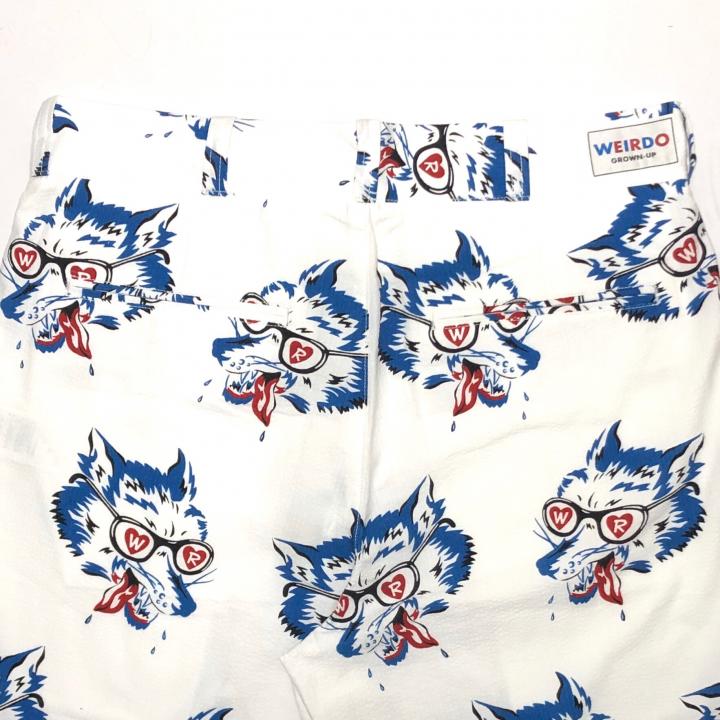 WOLF BAIT – SHORTS / WHITEの商品画像4
