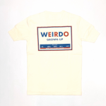 WEIRDO CAN – S/S HENRY NECK T-SHIRTS / WHITEの商品画像