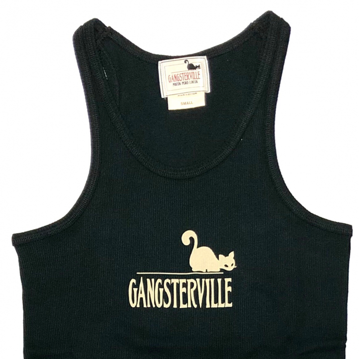 GANGSTERVILLE SIG – TANK TOP / BLACKの商品画像2