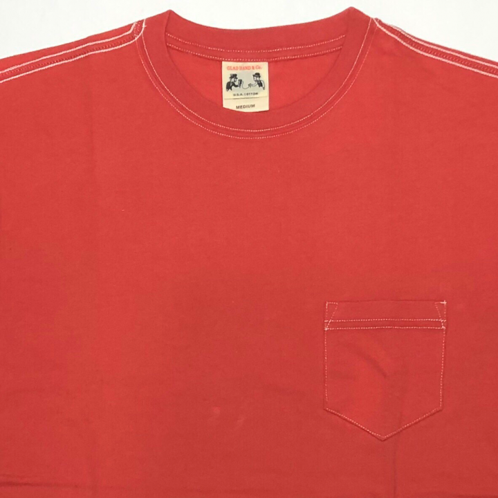 STANDARD POCKET T-SHIRTS / REDの商品画像3