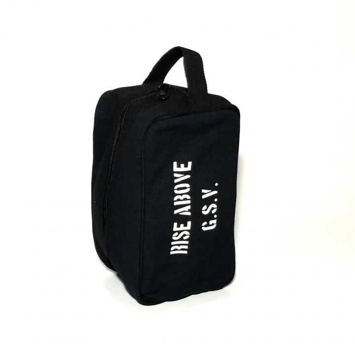 RIZE ABOVE – TRAVEL KIT BAG /BLACKの商品画像3