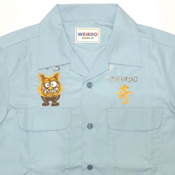 WEIRDOZ – S/S WORK SHIRTS / SAXの商品画像5