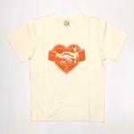 HEARTLAND – S/S T-SHIRTS / WHITEの商品画像