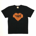 HEARTLAND – S/S T-SHIRTS / BLACKの商品画像