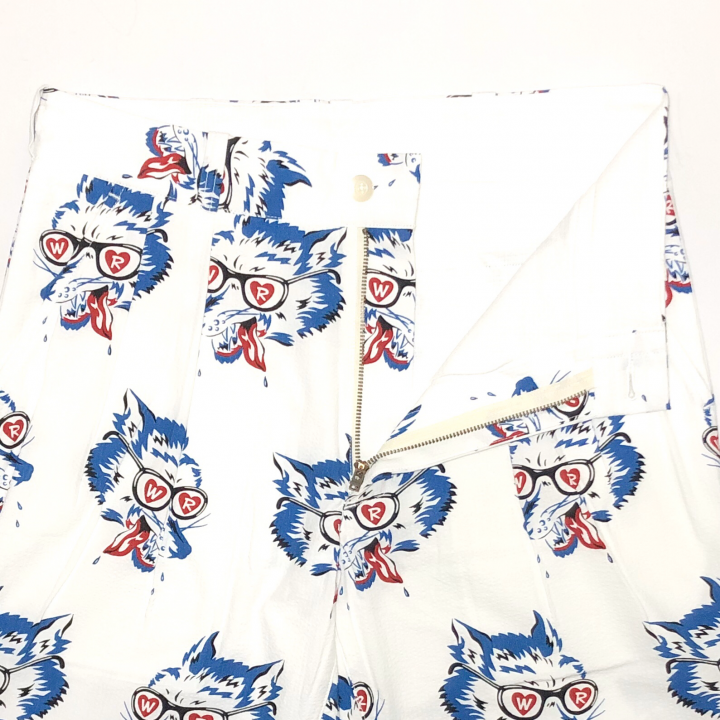 WOLF BAIT – SHORTS / WHITEの商品画像3