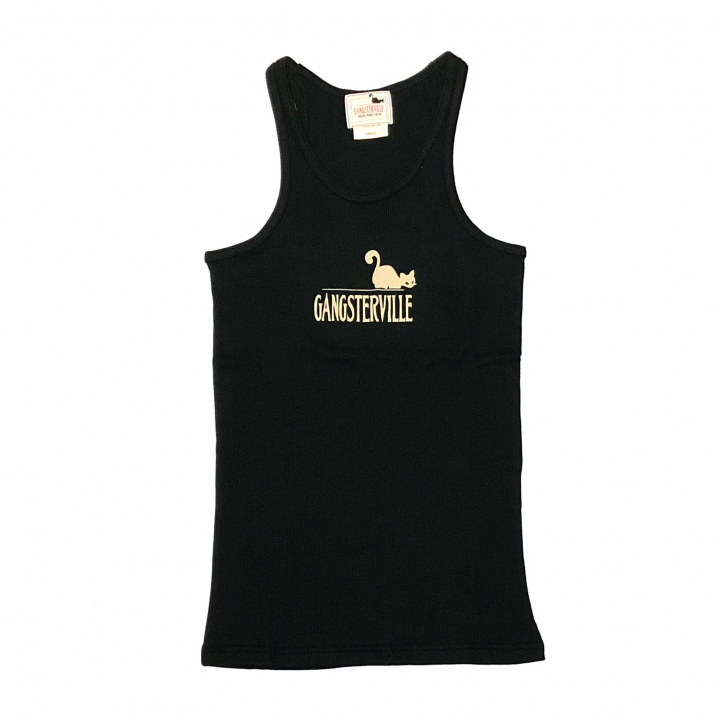 GANGSTERVILLE SIG – TANK TOP / BLACKの商品画像1