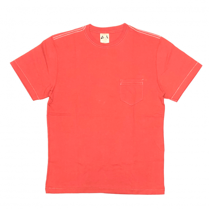STANDARD POCKET T-SHIRTS / REDの商品画像1