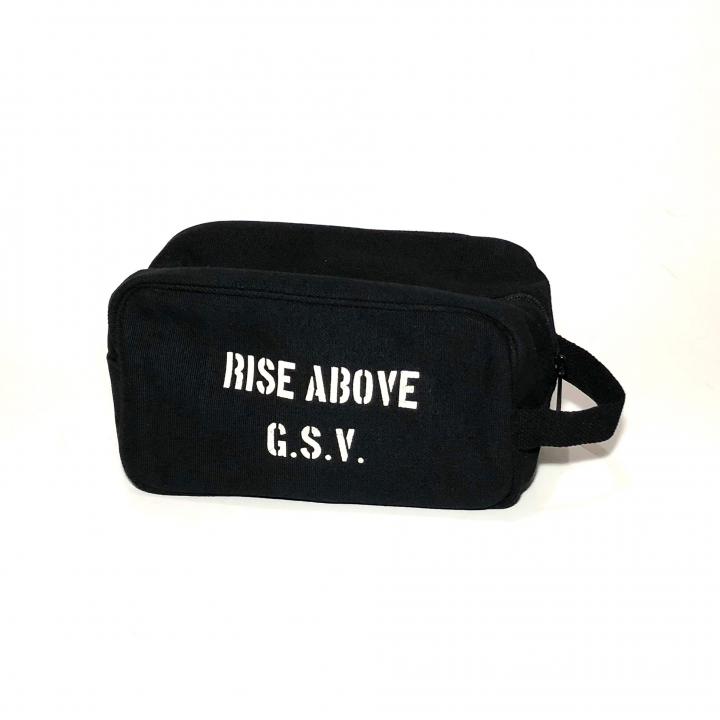 RIZE ABOVE – TRAVEL KIT BAG /BLACKの商品画像1