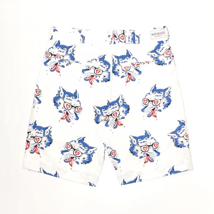 WOLF BAIT – SHORTS / WHITEの商品画像2