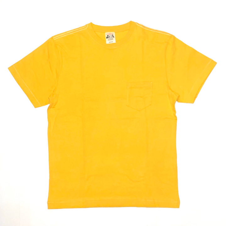 STANDARD POCKET T-SHIRTS / YELLOWの商品画像1