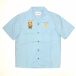 WEIRDOZ – S/S WORK SHIRTS / SAXの商品画像