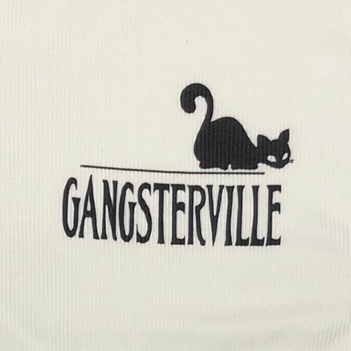 GANGSTERVILLE SIG – TANK TOP / WHITEの商品画像3
