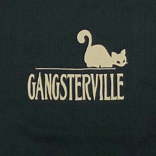 GANGSTERVILLE SIG – TANK TOP / BLACKの商品画像3