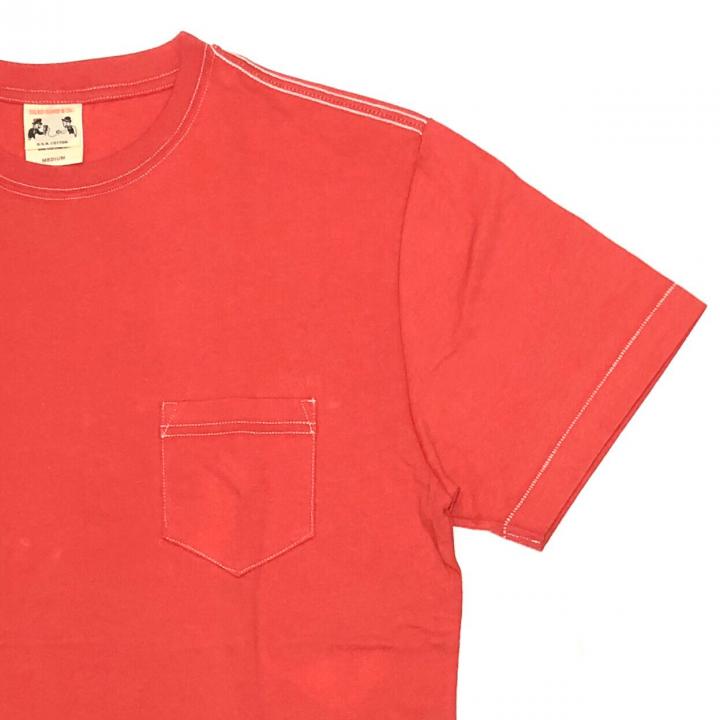 STANDARD POCKET T-SHIRTS / REDの商品画像4
