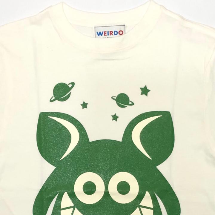 WEIRDO FINK – S/S T-SHIRTS / WHITE × GREENの商品画像2