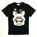 WEIRDO FINK – S/S T-SHIRTS / BLACK × IVORYの商品画像