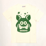 WEIRDO FINK – S/S T-SHIRTS / WHITE × GREENの商品画像