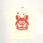 WEIRDO FINK – S/S T-SHIRTS / WHITE × REDの商品画像