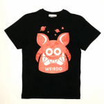 WEIRDO FINK – S/S T-SHIRTS / BLACK × REDの商品画像