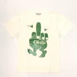 FUCK U – S/S T-SHIRTS / WHITE × GREENの商品画像