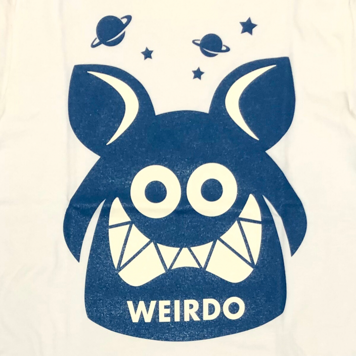 WEIRDO FINK – S/S T-SHIRTS / WHITE × BLUEの商品画像3