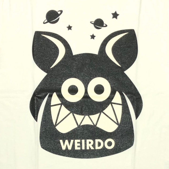 WEIRDO FINK – S/S T-SHIRTS / WHITE × BLACKの商品画像3