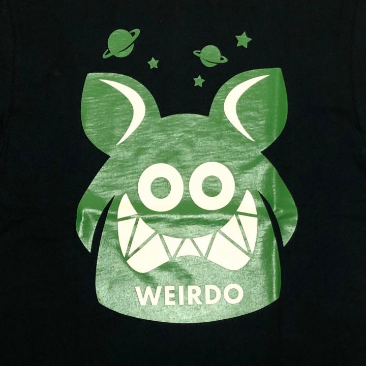 WEIRDO FINK – S/S T-SHIRTS / BLACK × GREENの商品画像3