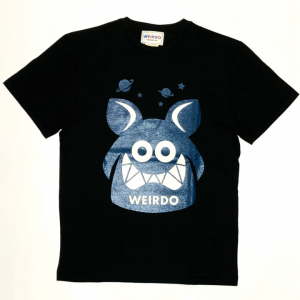 WEIRDO FINK – S/S T-SHIRTS / BLACK × BLUEの商品画像