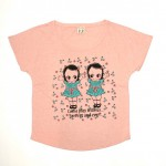 TWINS – DOLMAN SLEEVE T-SHIRTSの商品画像