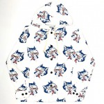 WOLF BAIT – HOODIE SHIRTS / WHITEの商品画像