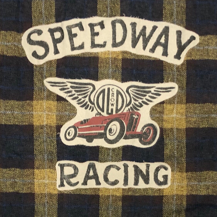 SPEEDWAY – L/S CHECK SHIRTS / YELLOWの商品画像2