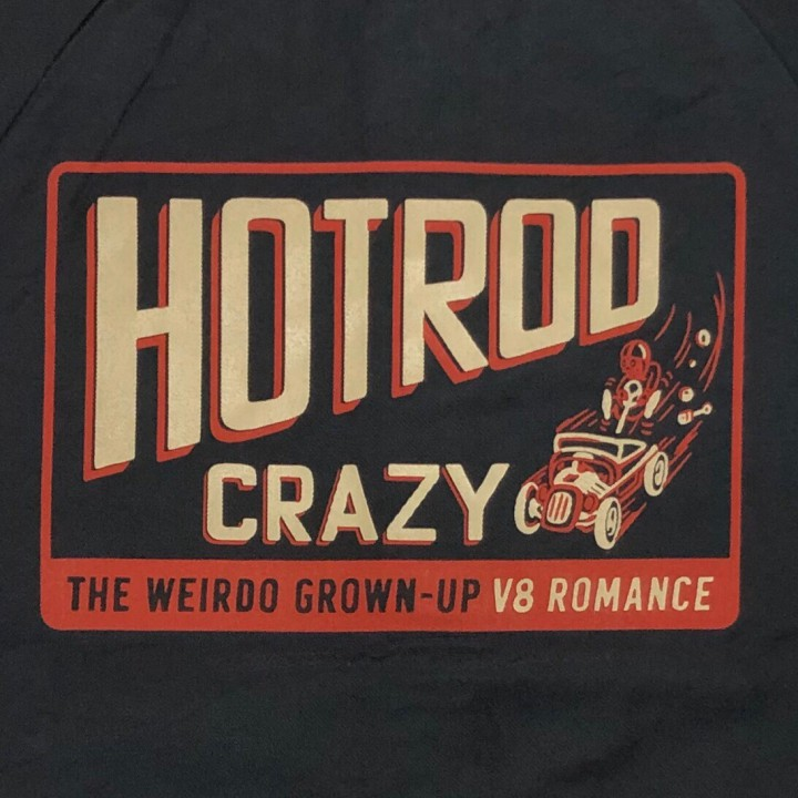 HOTROD CRAZY – COACH JACKET / BLACKの商品画像5