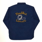 NON SKID – L/S WORK SHIRTS / BLUEの商品画像