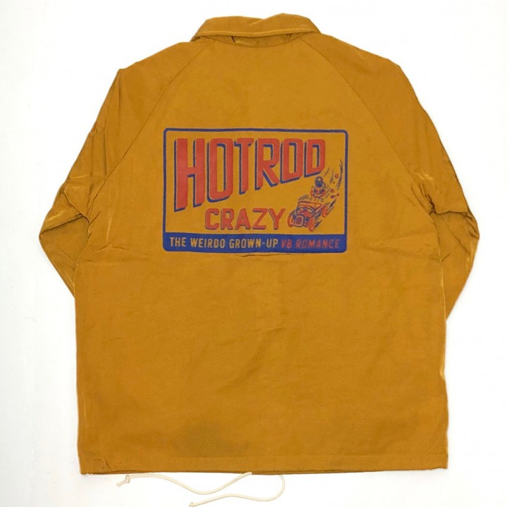 HOTROD CRAZY – CORCH JACKET / MUSTARDの商品画像2