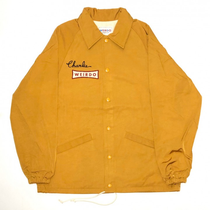 HOTROD CRAZY – CORCH JACKET / MUSTARDの商品画像1