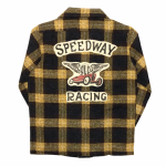 SPEEDWAY – L/S CHECK SHIRTS / YELLOWの商品画像