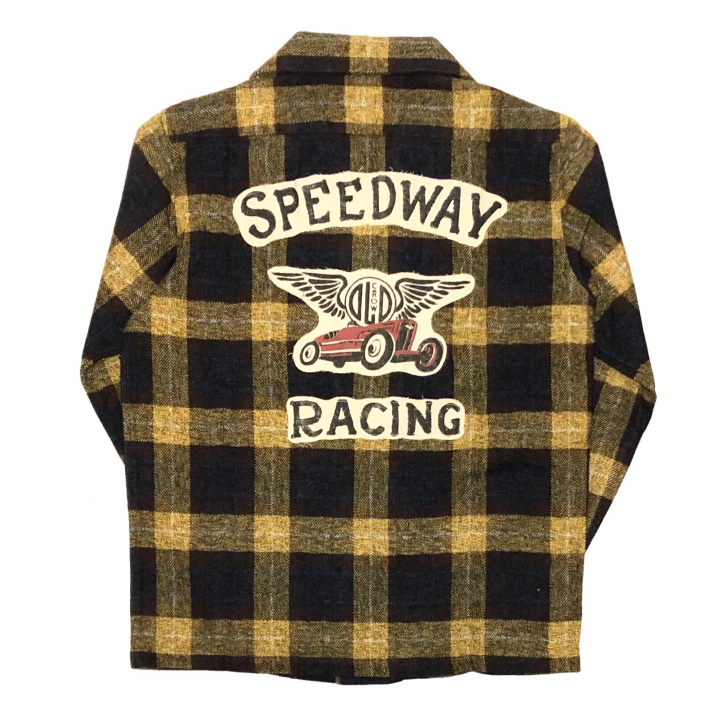 SPEEDWAY – L/S CHECK SHIRTS / YELLOWの商品画像5