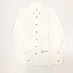 RISE ABOVE – L/S BUTTON DOWN SHIRTS / WHITEの商品画像
