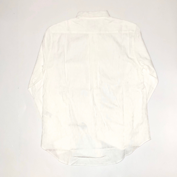 RISE ABOVE – L/S BUTTON DOWN SHIRTS / WHITEの商品画像2