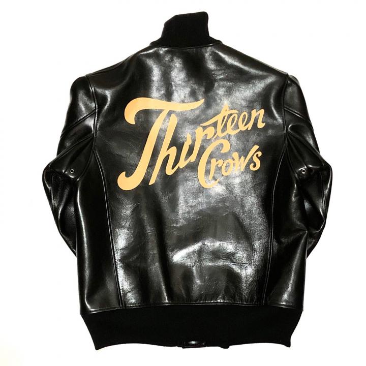 THIRTEEN CROWS – A1 TYPE JACKET / BLACKの商品画像2
