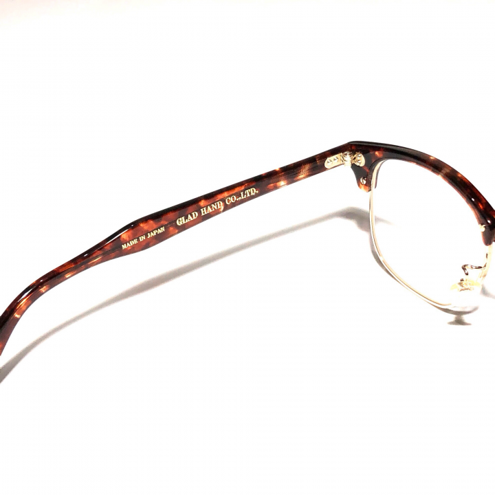 COLLINS – GLASSES / GOLD AMBER × CLEARの商品画像4