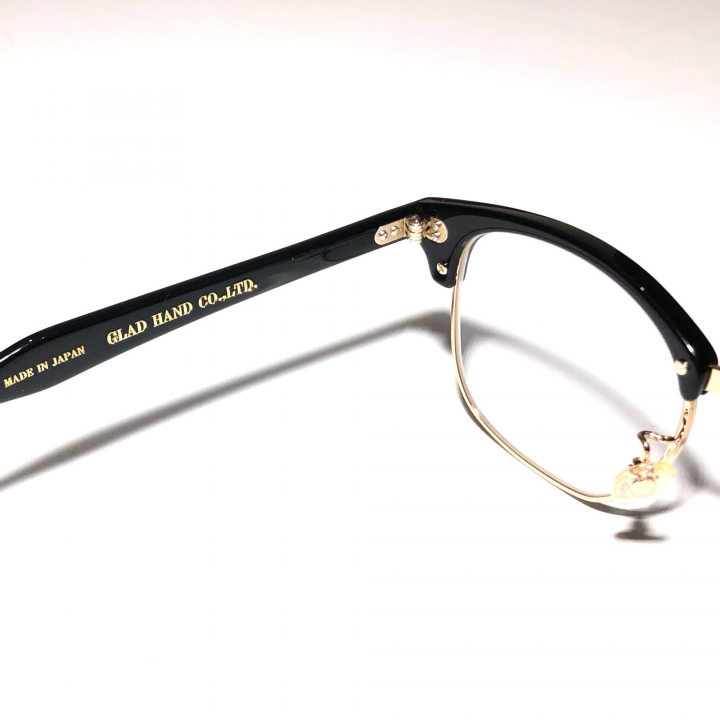 COLLINS – GLASSES / GOLD BLACK × CLEARの商品画像4