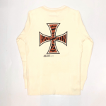 TIGER CROSS – L/S T-SHIRTS / WHITEの商品画像