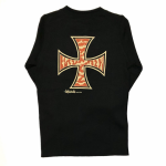 TIGER CROSS – L/S T-SHIRTS / BLACKの商品画像