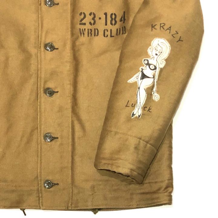 WRD CLUB – DECK JACKET / HAND PAINT / KHAKIの商品画像4