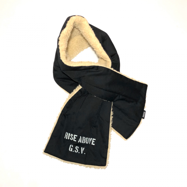 RISE ABOVE – REVERSIBLE PILE SCARFの商品画像5