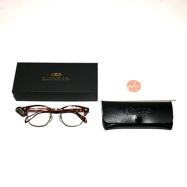 COLLINS – GLASSES / GOLD AMBER × CLEARの商品画像5