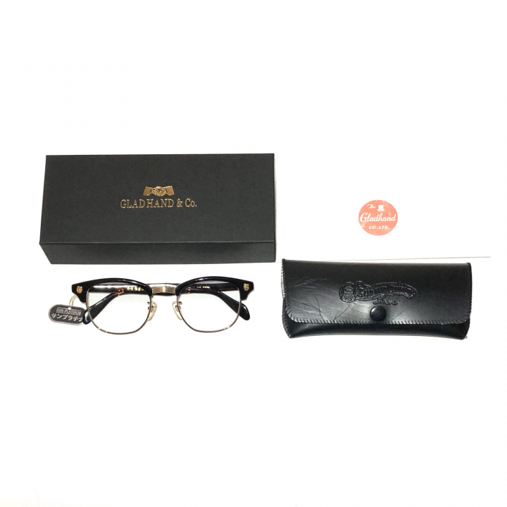 COLLINS – GLASSES / GOLD BLACK × CLEARの商品画像5